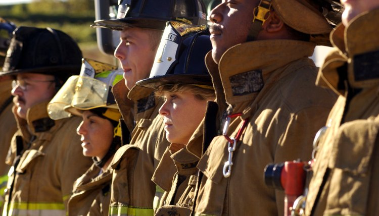 Firefighters observe a number of traditions in funerals for their fallen brethren