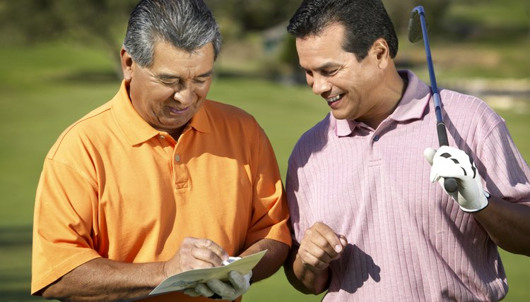 In match play scoring, the number of holes won determines the winner rather than total strokes.