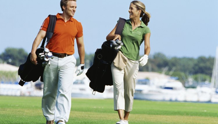 If you play golf with your spouse, you may need to adjust your handicaps for different tees.