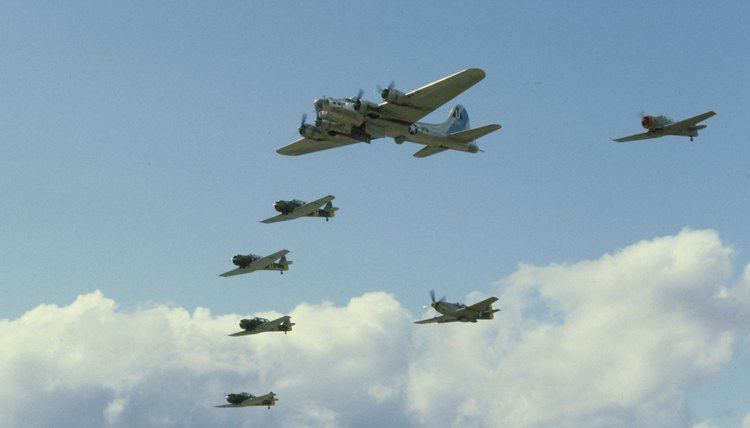 Strategic bombing played an important part in German and Allied war strategy during WWII.