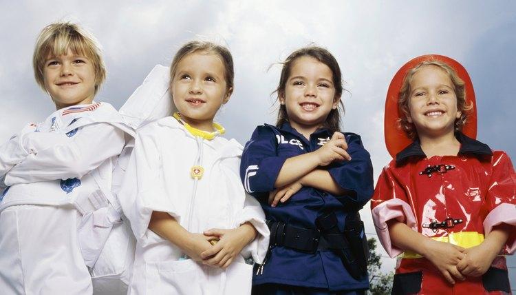 Children in elementary school enjoy exploring different careers.