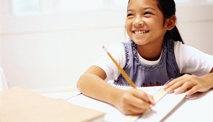 In fifth grade, students learn to polish their writing in preparation for middle school.