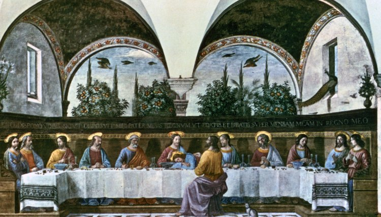 Judas's betrayal at the Last Supper is a key event in the story of Jesus Christ.