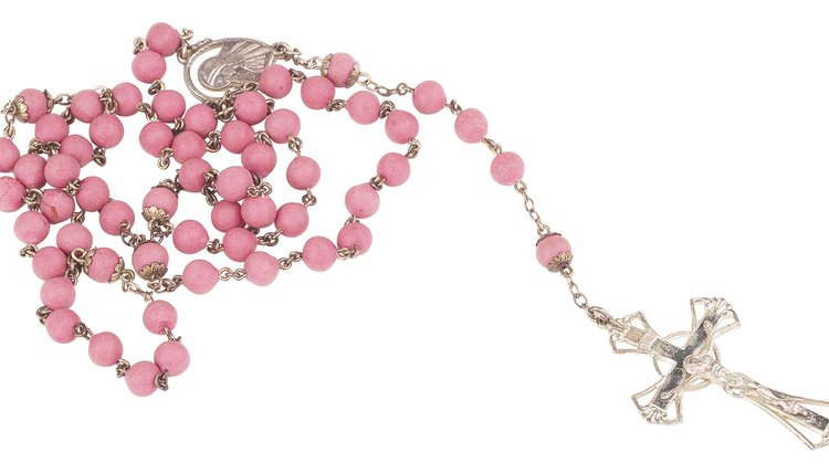 Rosaries can be made to reflect the confirmed's personality.