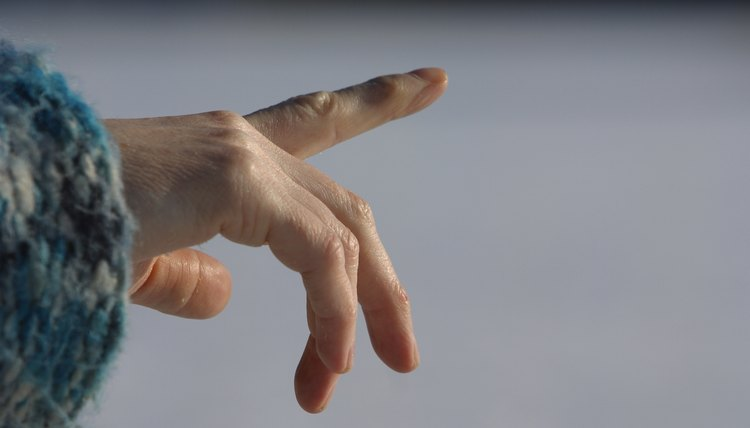What Makes Fingers Purple?