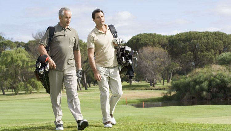Focus on having a good time when playing golf with your boss.