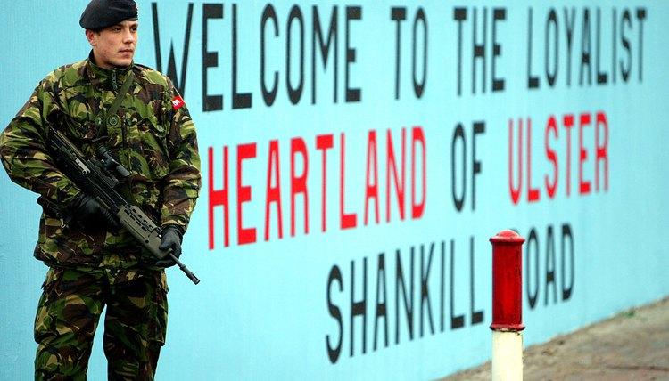 In Belfast's Shankill neighborhood, murals belie the area's loyalist leanings.