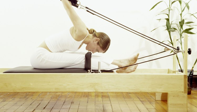 Pilates exercises can increase your strength and flexibility.