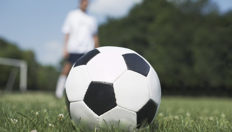 How to Clean Scuff Marks on a Soccer Ball