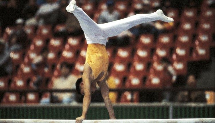 The Types of Balances in Gymnastics