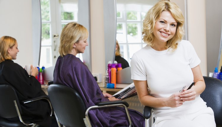 Cosmetology students must complete a required number of training hours.