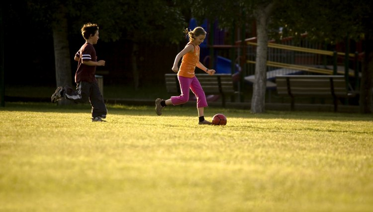 Soccer Drills for 9- & 10-year-olds