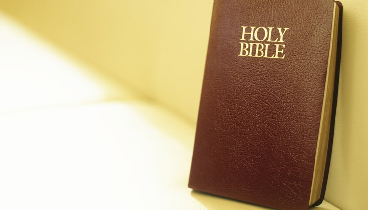 Evangelicals believe the Bible is the authoritative 'Word of God.'