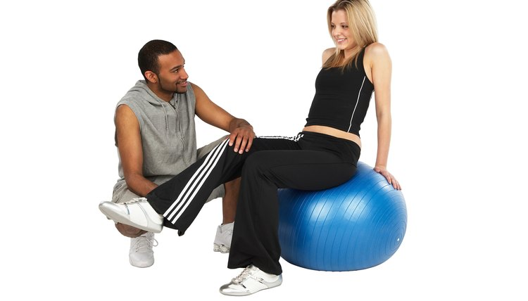 Personal trainers can work in independent practice or in a gym.