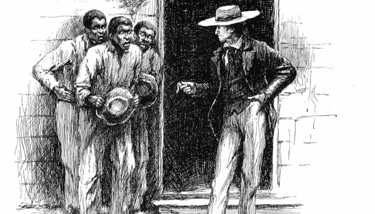 Slavery thwarted African-Americans' pursuit of freedom and personal gain.