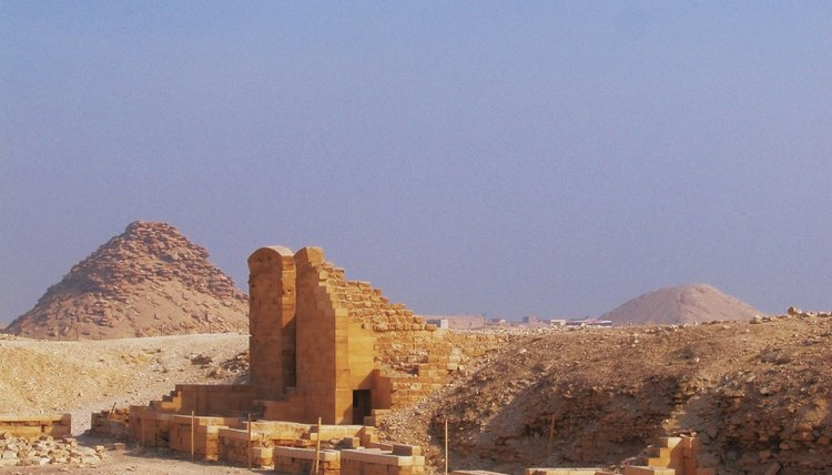 Wealthy Egyptians could afford more elaborate burials.