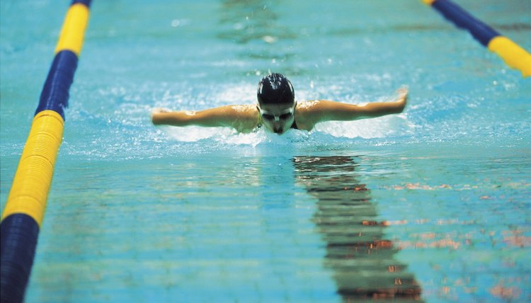 How Does an Olympic Swimmer Train?