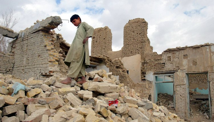 Years of war have left much of Afghanistan in ruins.