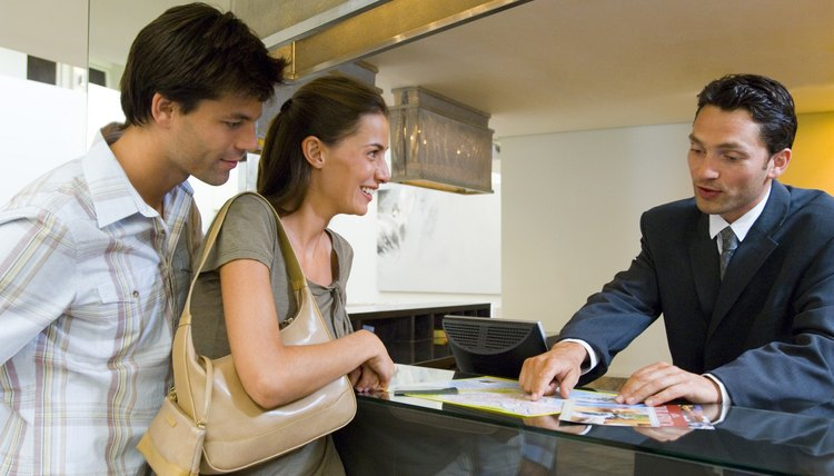 Hospitality Ph.D. students might research how to best organize a hotel's management.