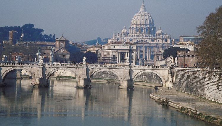 Vatican City has been the home of the popes starting with the apostle Peter.