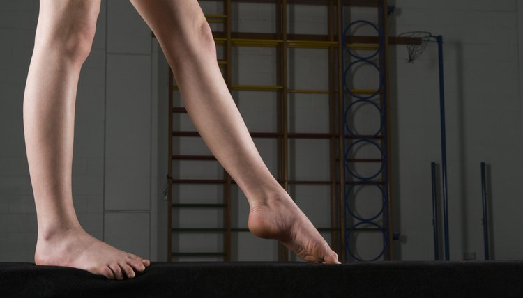 Beginner Easy Gymnastic Beam Routines
