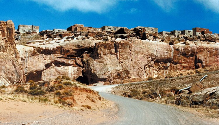 New Mexico's Acoma Pueblo may be 1,200 years old or more.