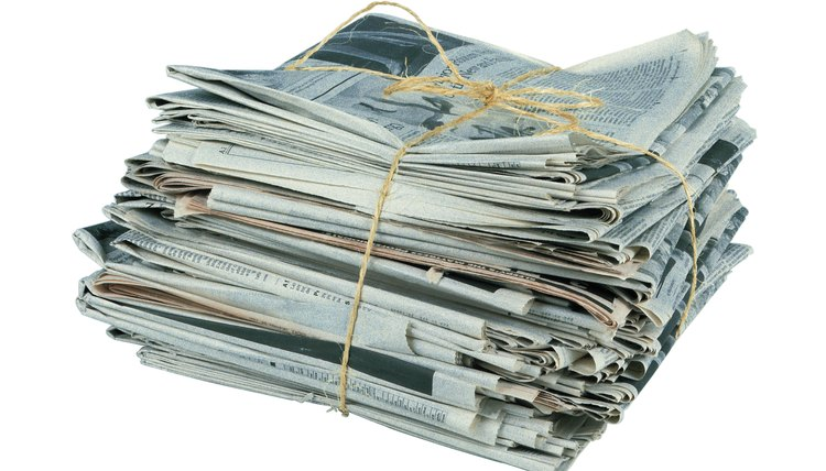 Paper can only be recycled up to seven times.