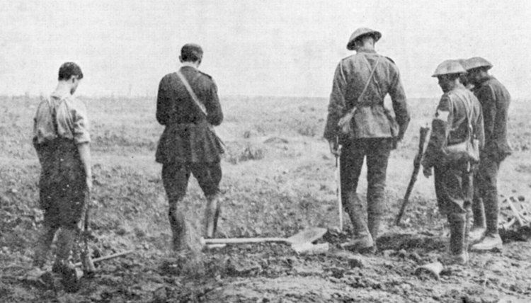 More than 24,000 Canadians died in the 1916 Battle of the Somme.