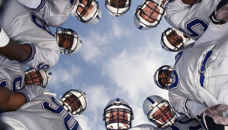 What Do the Stickers on Football Helmets Mean?