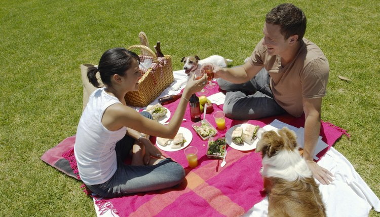 Surprise him with a picnic at a local park.