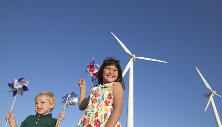 Take your munchkins on a little field trip to see windmills at work.