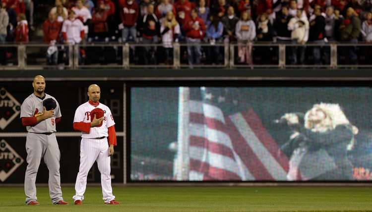 How to Sing the National Anthem at a Professional Baseball Game