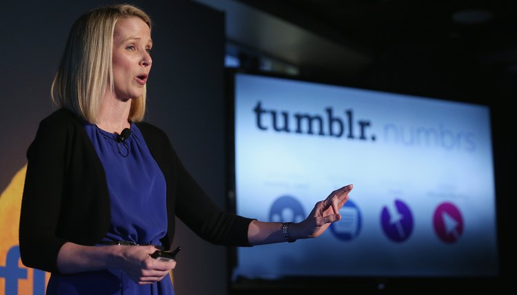 Tumblr is owned and developed by Yahoo.