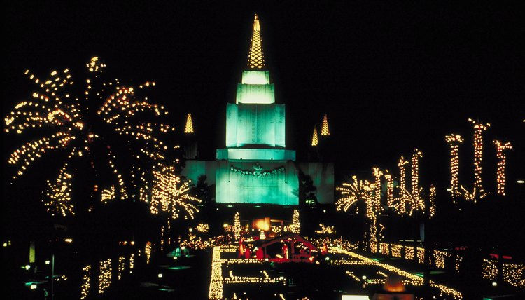 A Mormon temple is an ideal place to learn about the faith.