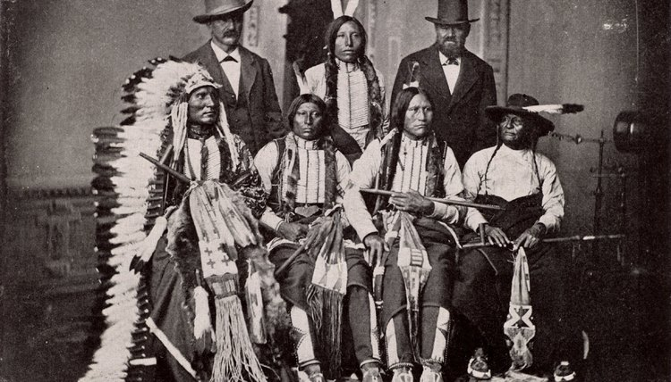 The practice of forming treaties with Native American tribes ended with the Indian Appropriations Act of 1871.