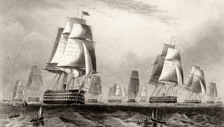 Fifteenth and 16th European nations relied on their sailing ships for exploration