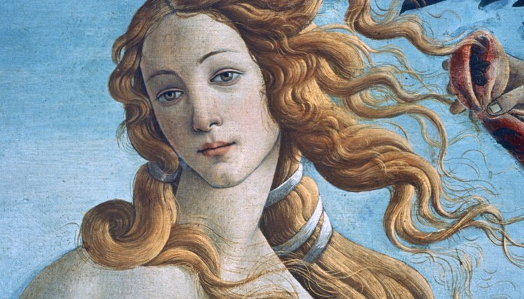 "In Botticelli's ""Birth of Venus,"" the face of the Virgin Mary is transformed, given a new identity as the pagan goddess of love, Aphrodite."