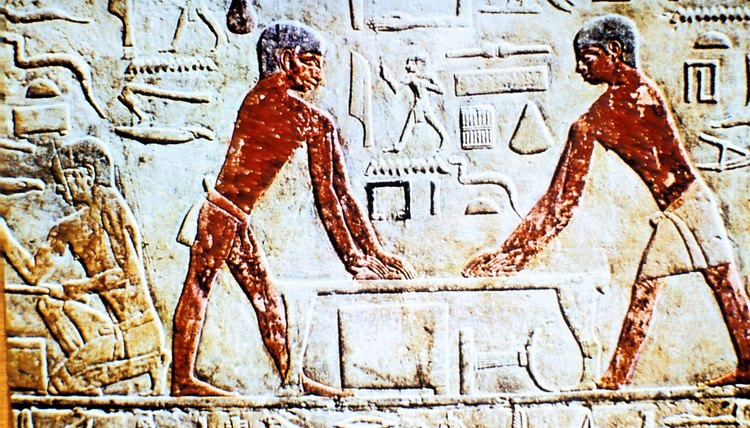 Common Egyptians still believed in preparing for the afterlife.