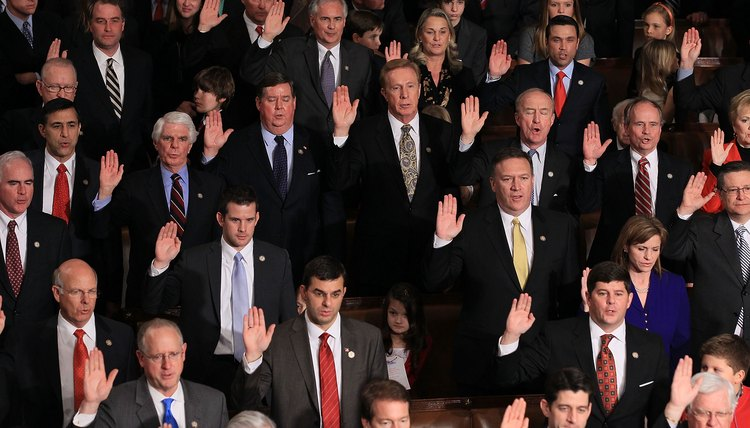 112th Congress Convenes On Capitol Hill