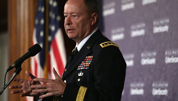 what does it take to be a general in the military