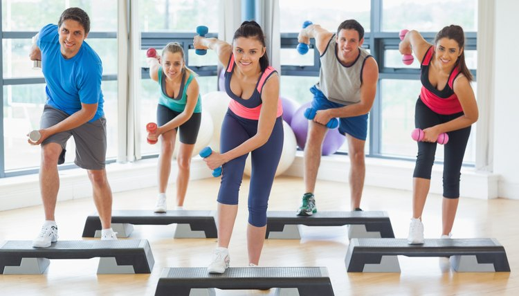 Toning Exercises Using a Step