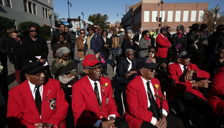 The Tuskegee Airmen were the first African-American military aviators.