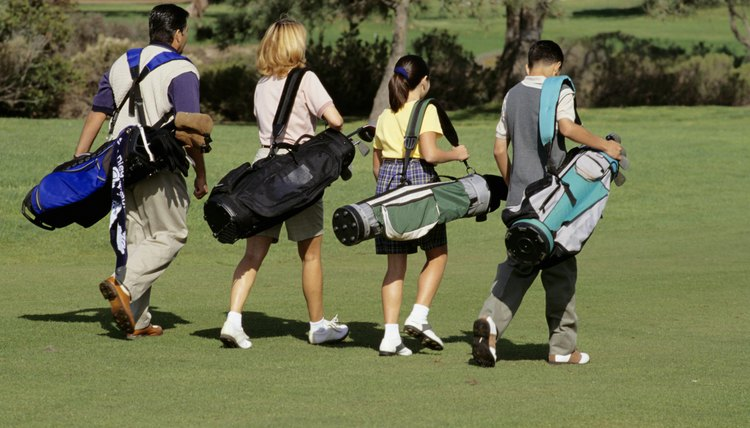 Walking while carrying your clubs is good exercise.