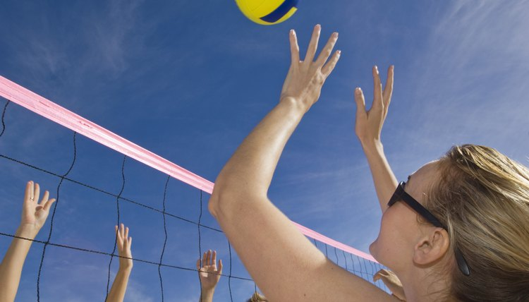Newton's Three Laws of Motion for Volleyball