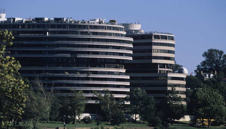 "Richard Nixon's quote, ""I am not a crook!"" was made in response to the break-in at Watergate."