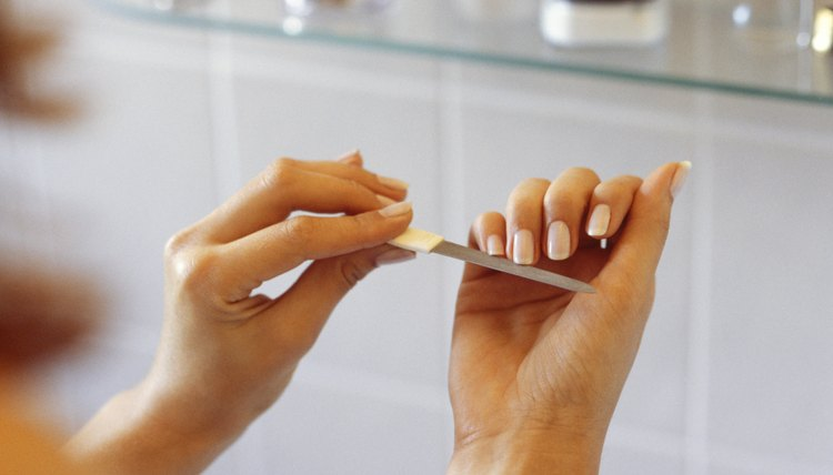 Make the silicone nails as short as possible before attempting to remove them.