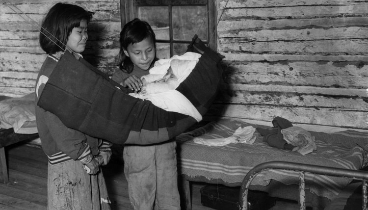 The Inuit welcome children.
