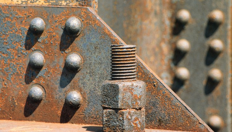 Steel nuts , bolts , and rivets