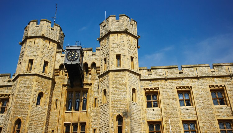 The Royal Mint was formerly located in the Tower of London.