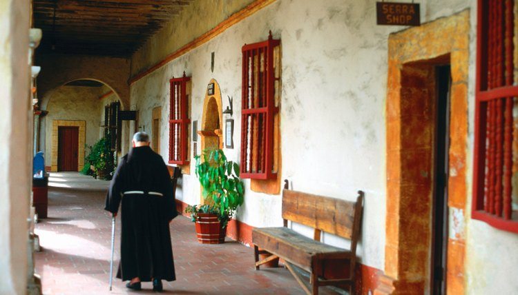 Contemporary monks' robes follow the same design as medieval monastic habits.